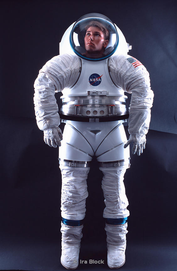 Ira Block Photography | Space suit design by NASA for long ...