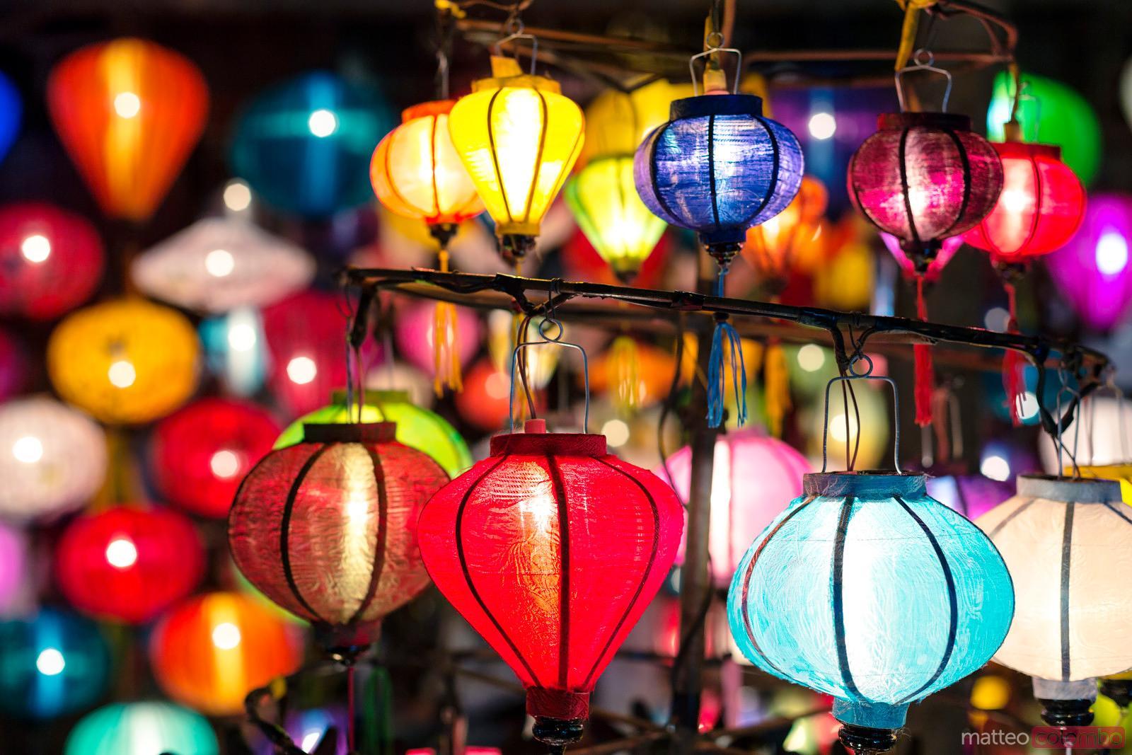 Matteo Colombo Travel Photography | Typical paper lanterns at night ... for Paper Lantern Photography  183qdu