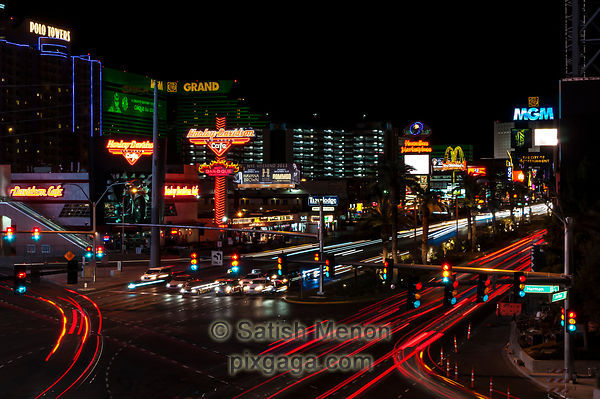 Las Vegas at Night.