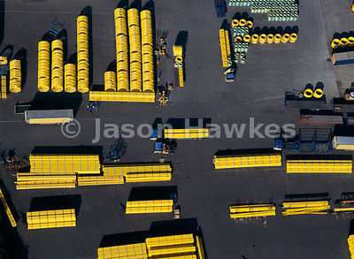 Yellow Gas Pipes, Transc Depot