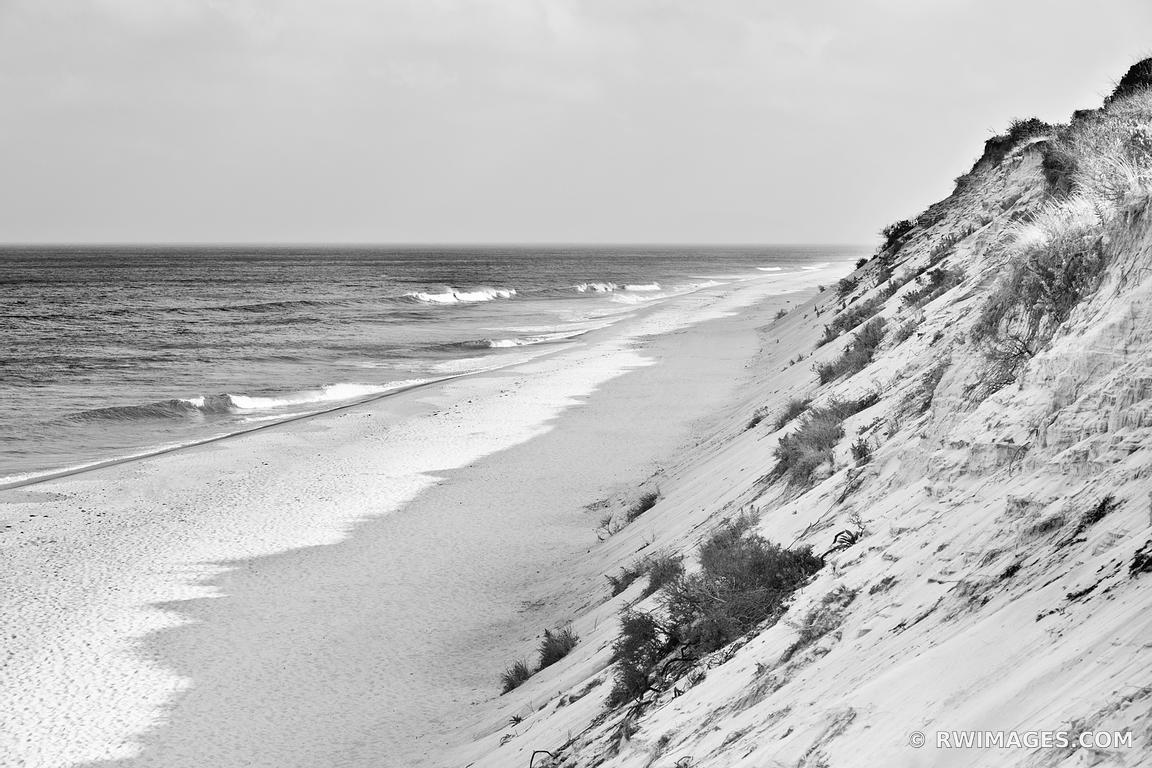 Photo print of marconi beach cape cod black and white for Large photographic prints for sale