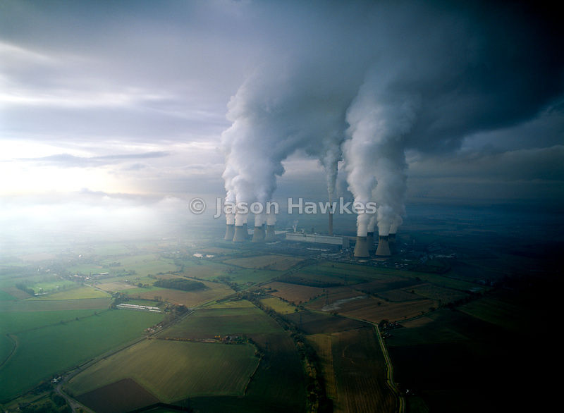 Power Station chimneys, England