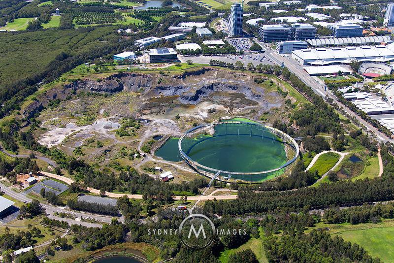 Sydney Olympic Park Homebush Bay Brick Pit Ring Walk