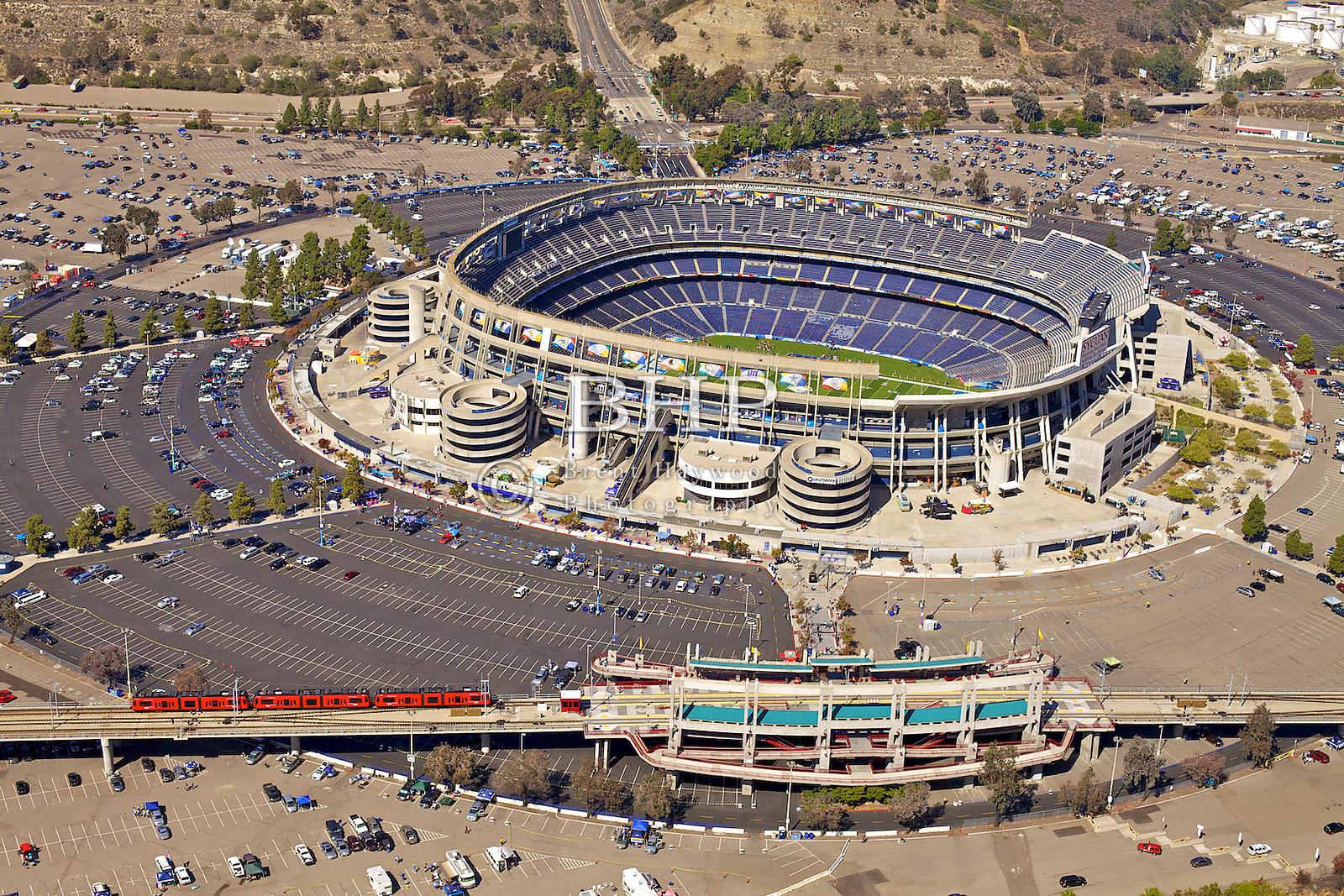 Brent Haywood Photography Qualcomm Stadium Aerial Photo