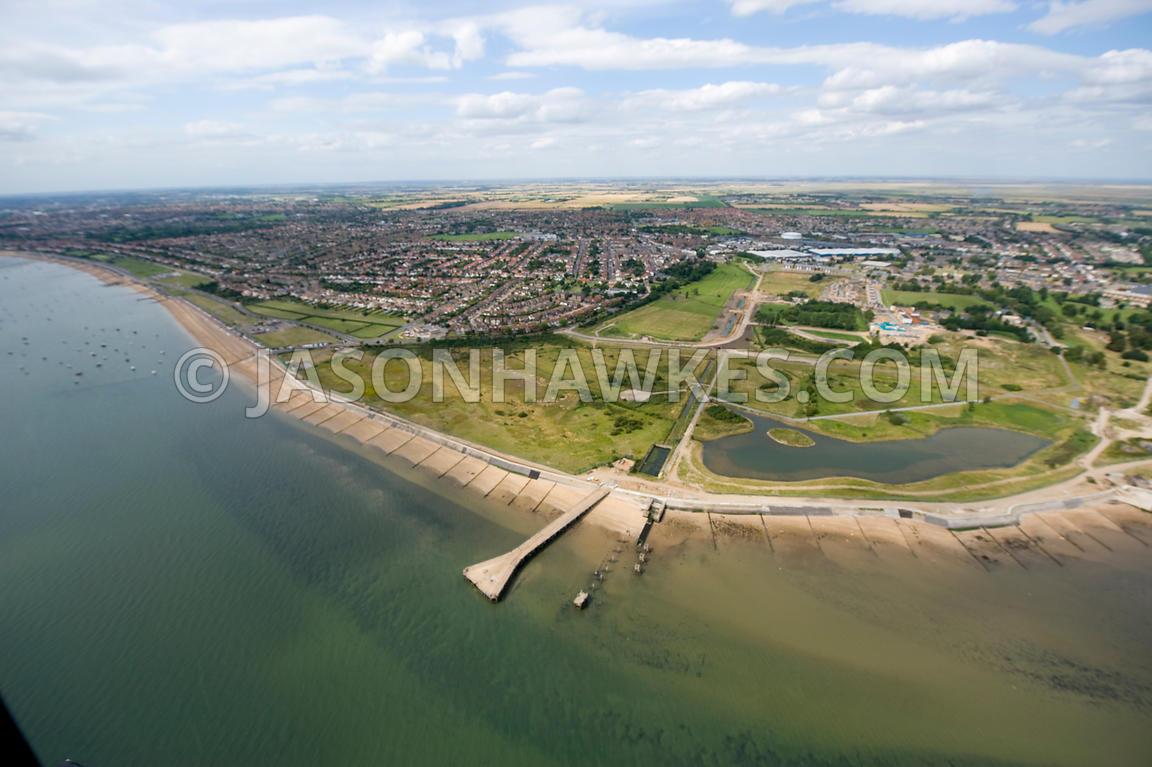 Aerial View Shoeburyness Southend On Sea Essex Jason