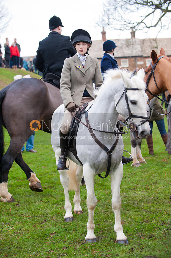 Cottesmore Hunt supporters at the Boxing Day Meet in Oakham.
