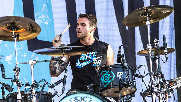 Rian Dawson, drums, All Time Low