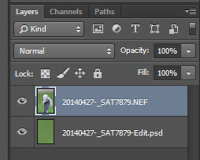 Layers in Photoshop CC