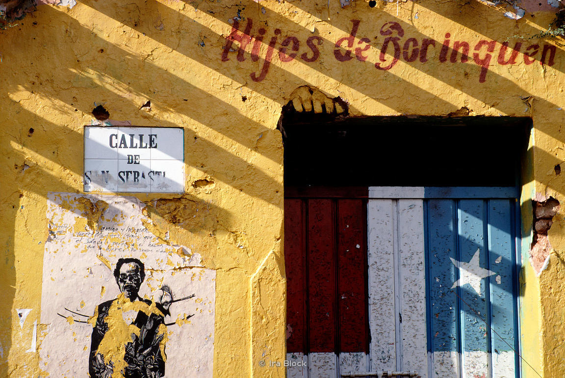 Ira Block Photography | A yellow house in Old San Juan, Puerto Rico