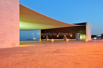 Pavilho de Portugal (Portugal Pavillion), a project by architect lvaro Siza Vieira. Parque das Naes, Lisbon