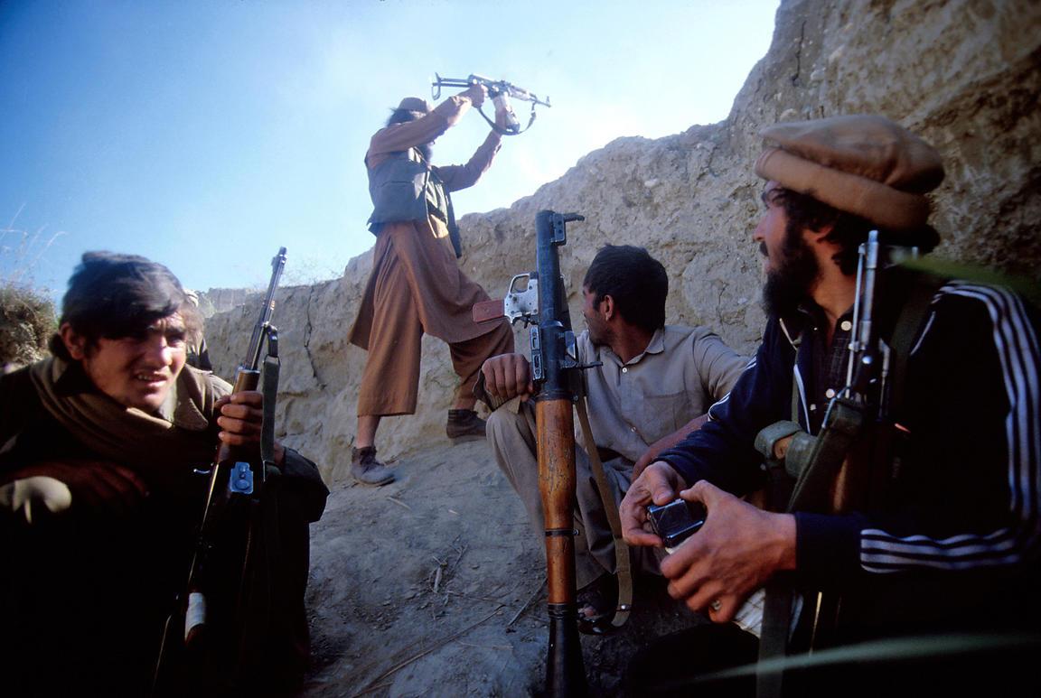 Kriget i afghanistan massiv attack mot kabul