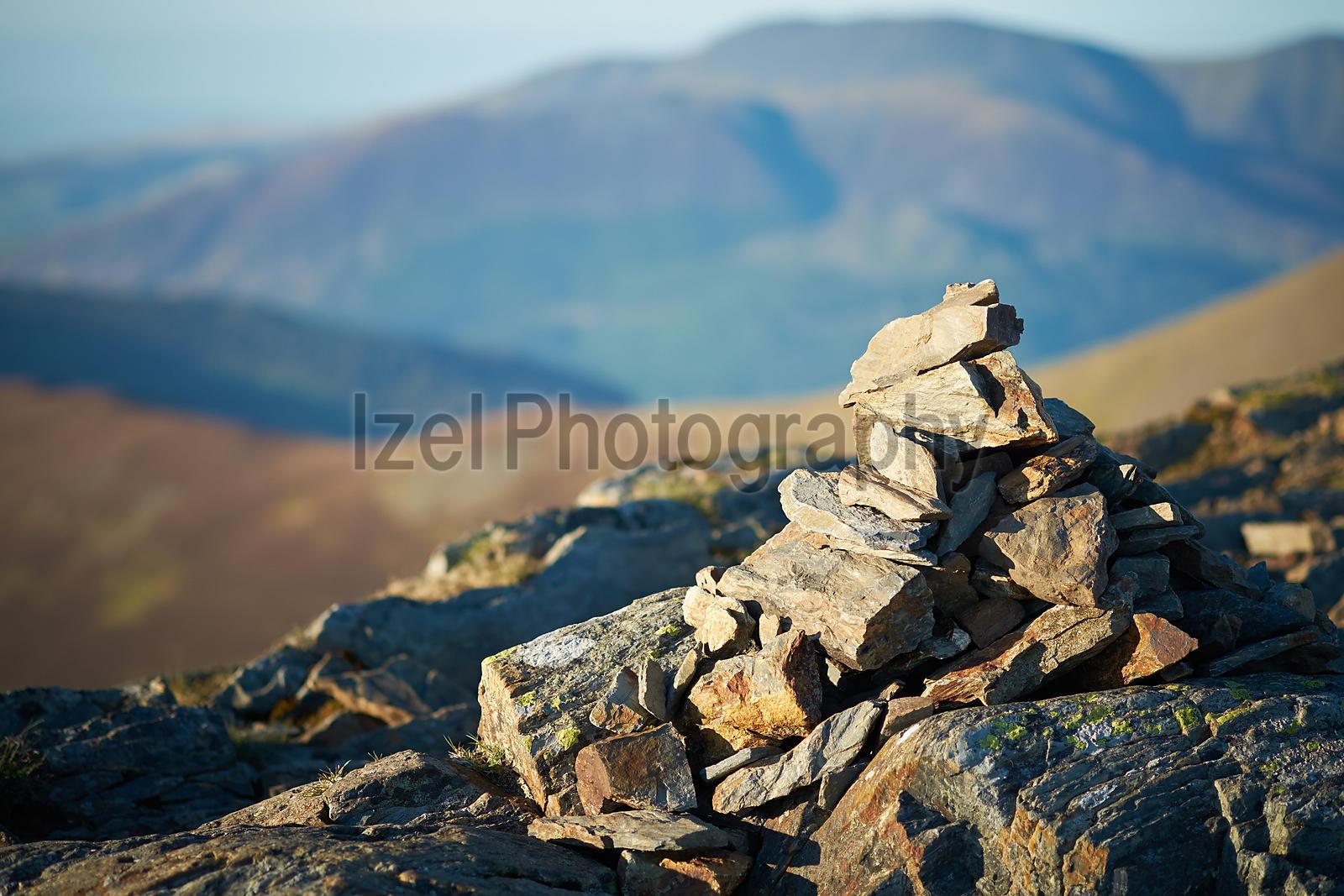 Mountain Summit Cairn