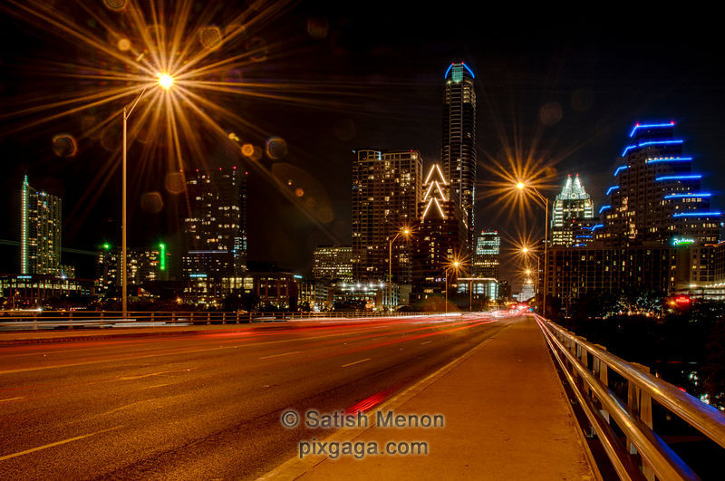 Austin Downtown at Night