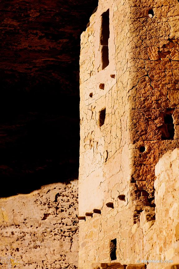 Photo Print of CLIFF DWELLINGS RUINS CLIFF PALACE MESA VERDE ...