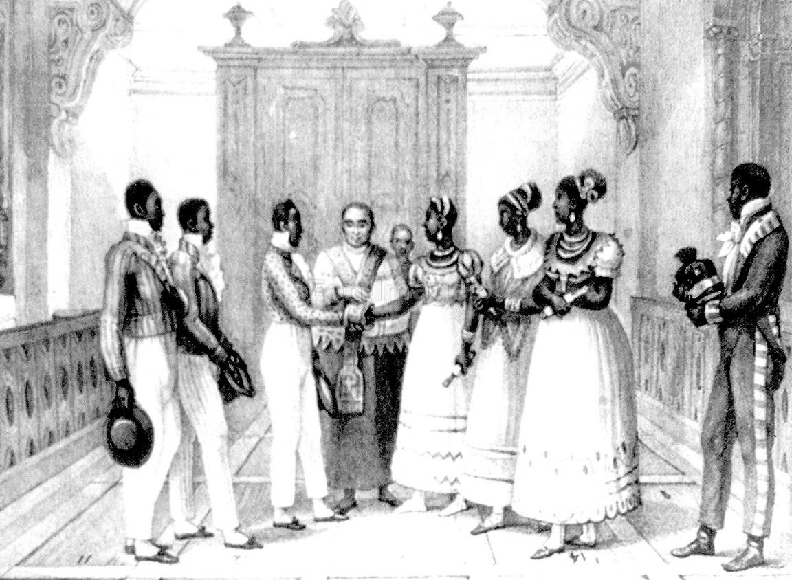 Eon Images | 19th-century wedding of wealthy black ...