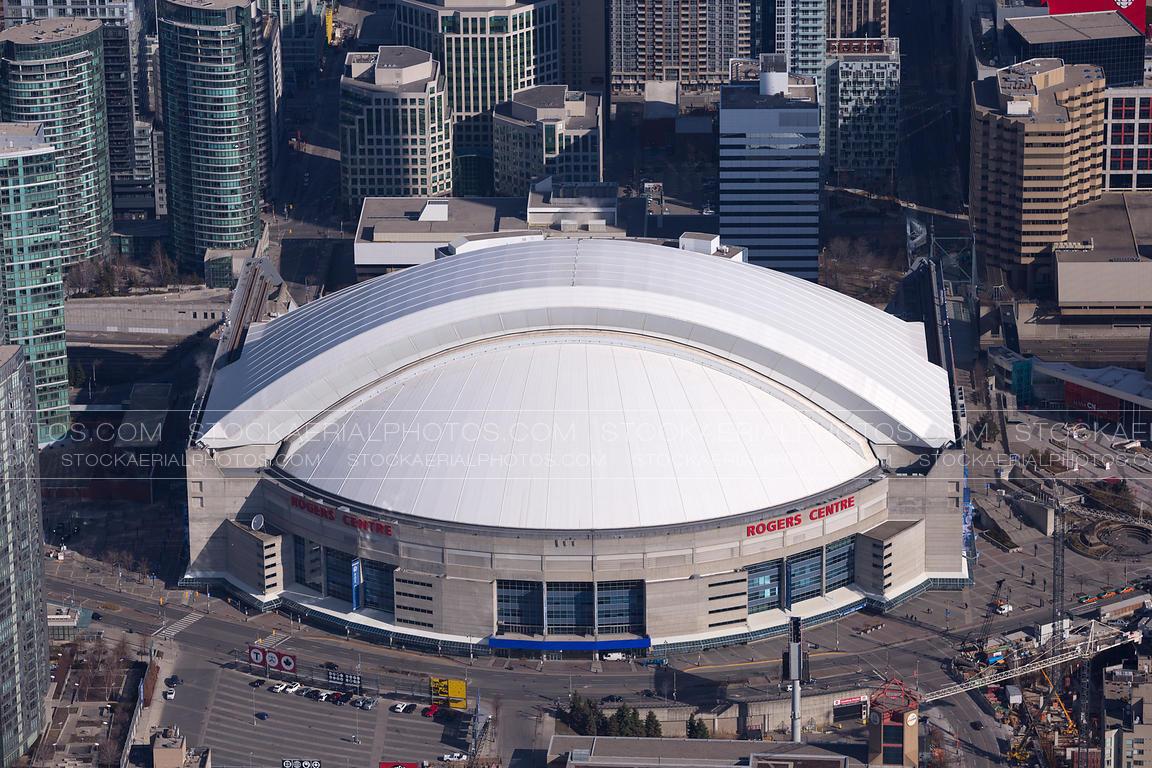 Aerial Photo Rogers Centre Toronto