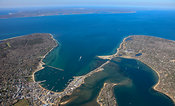 Vineyard Haven Harbor And Lagoon Pond, Martha's Vineyard
