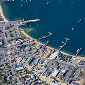 Vineyard Haven aerial photos