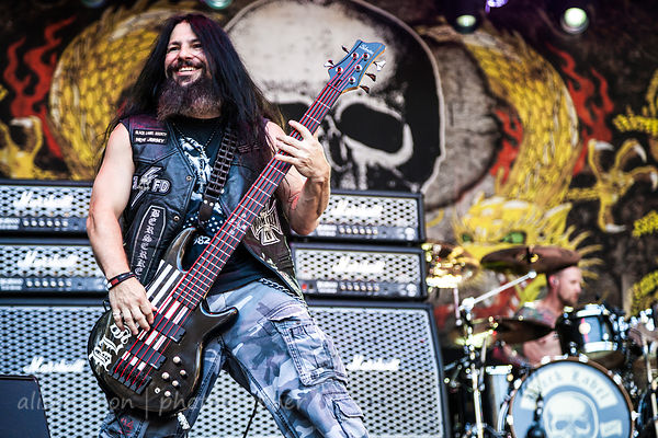John DeServio, bass, Black Label Society