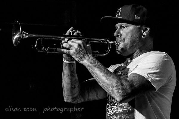 Jonny Shidler, trumpet, Street Urchinz