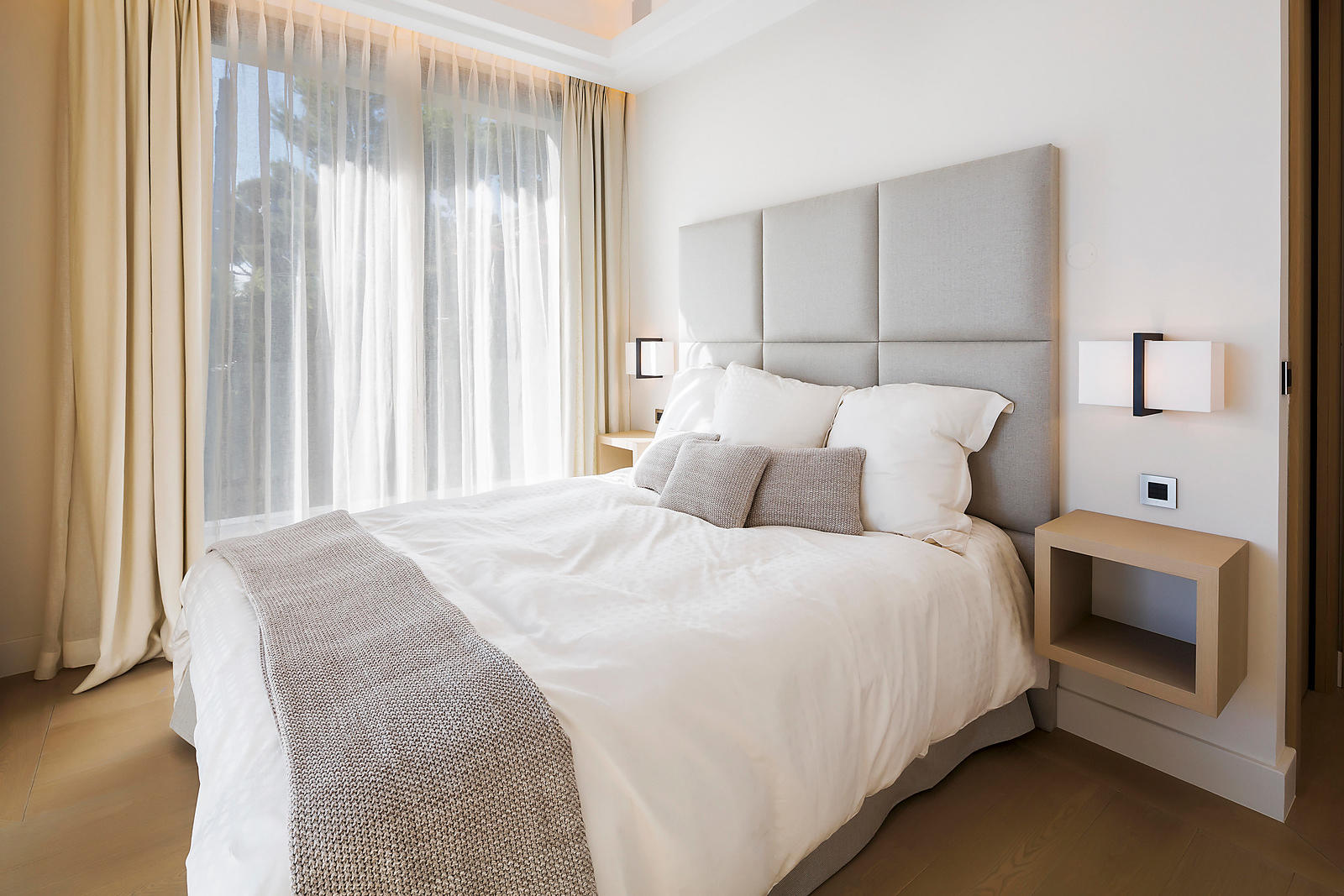 Chambre bedroom villa de luxe fren Riviera