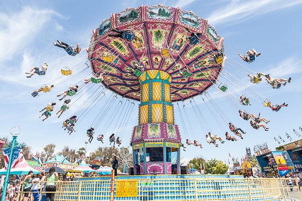 California State Fair time!!! Rides, animals, deep-fried food, and free concerts!