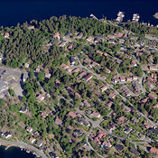 Staubø aerial photos