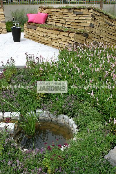 Point D Eau Jardin la photothèque | les plus beaux jardins | terrasse, dallage béton