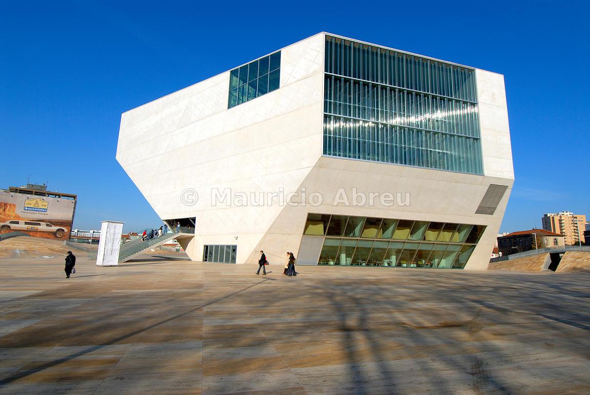 Images of portugal casa da m sica music house in for Da architecture