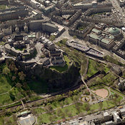 Edinburgh aerial photos