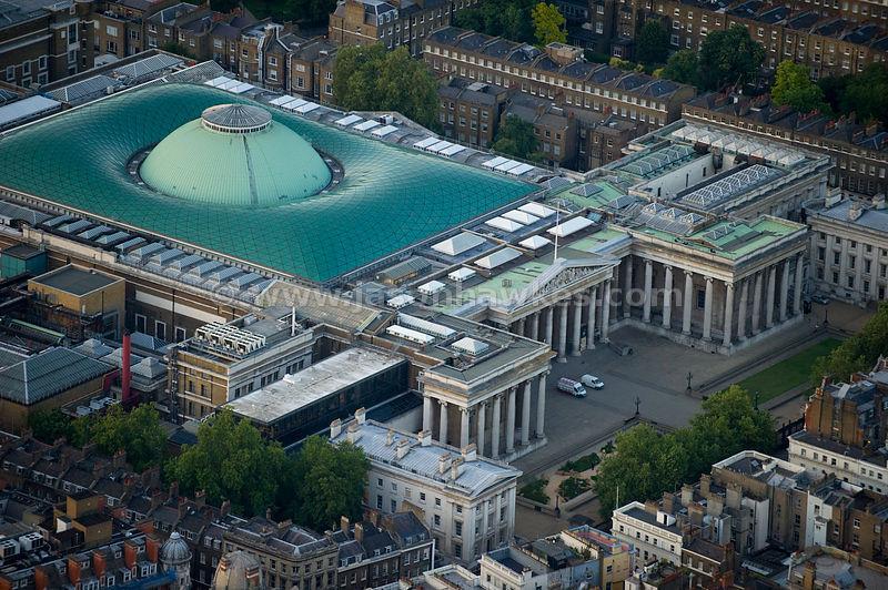 British Museum Aerial View Aerial View of British Museum