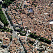 Languedoc Rousillon aerial photos