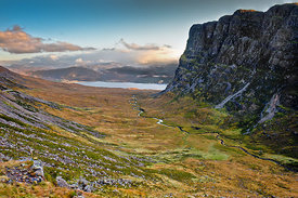Sunrise from Bealach na Ba