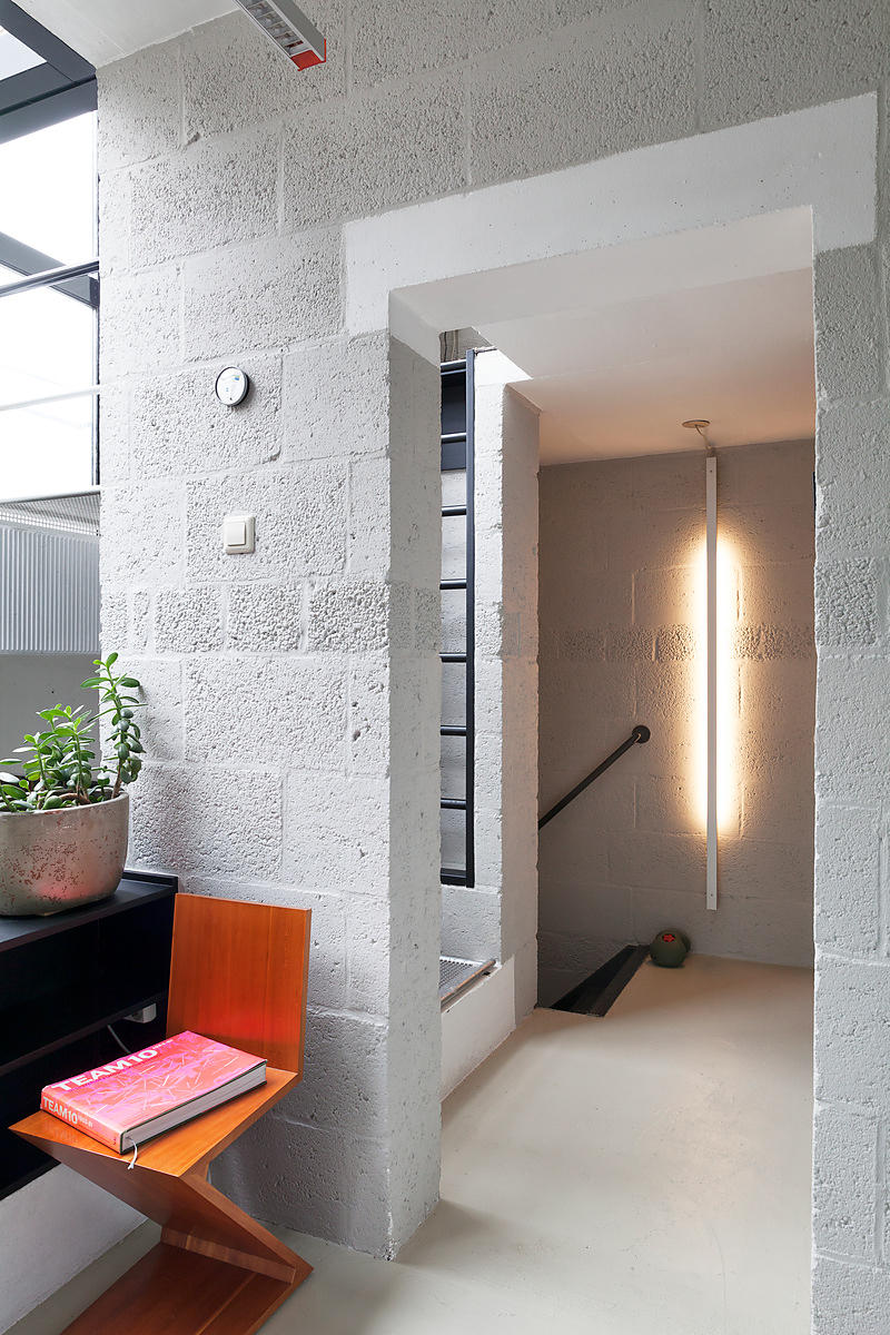 interieur produktie diagoon woning ontworpen door architect herman hertzberger delft