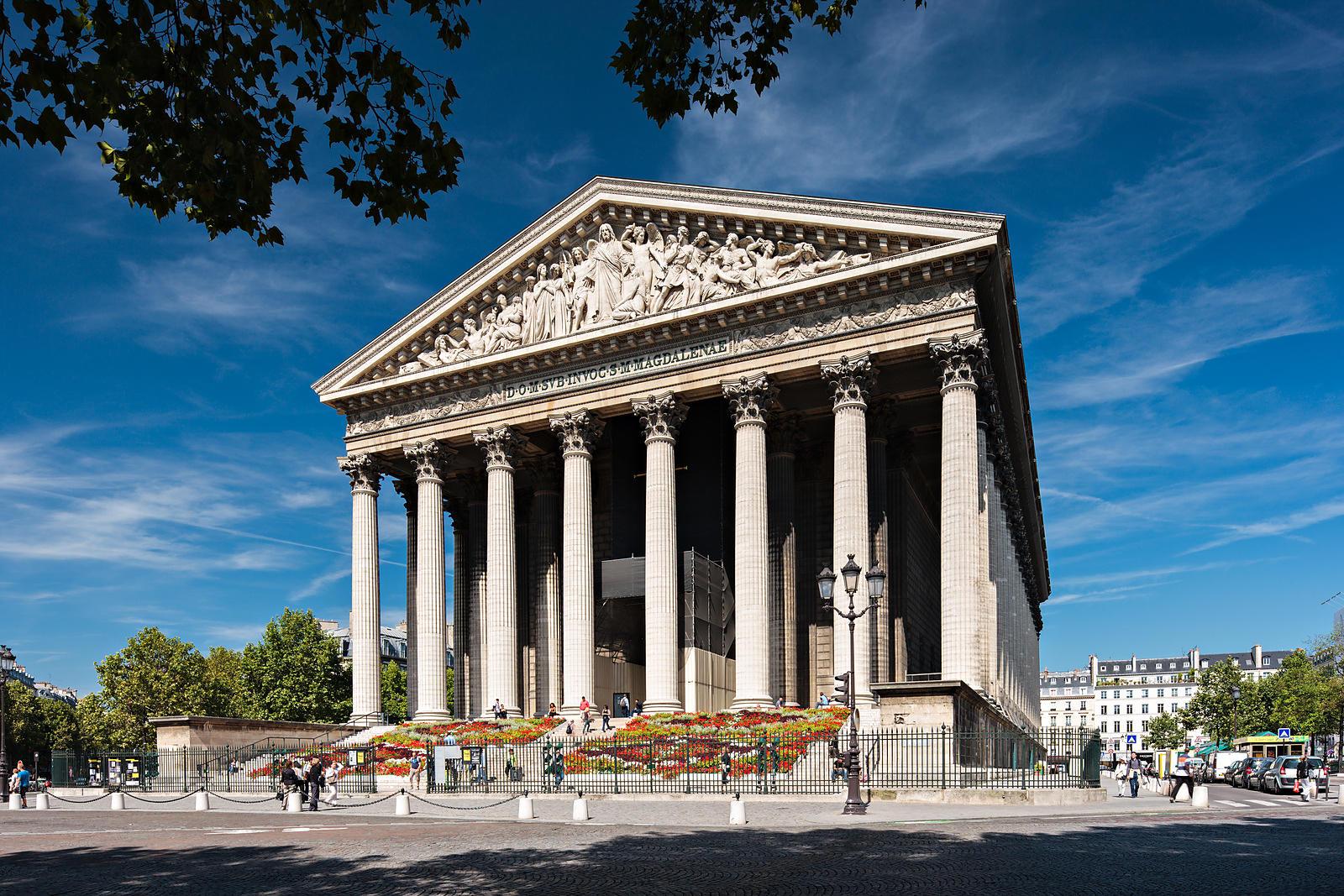 Around the world in 80 days paris la madeleine for Soggiornare a parigi