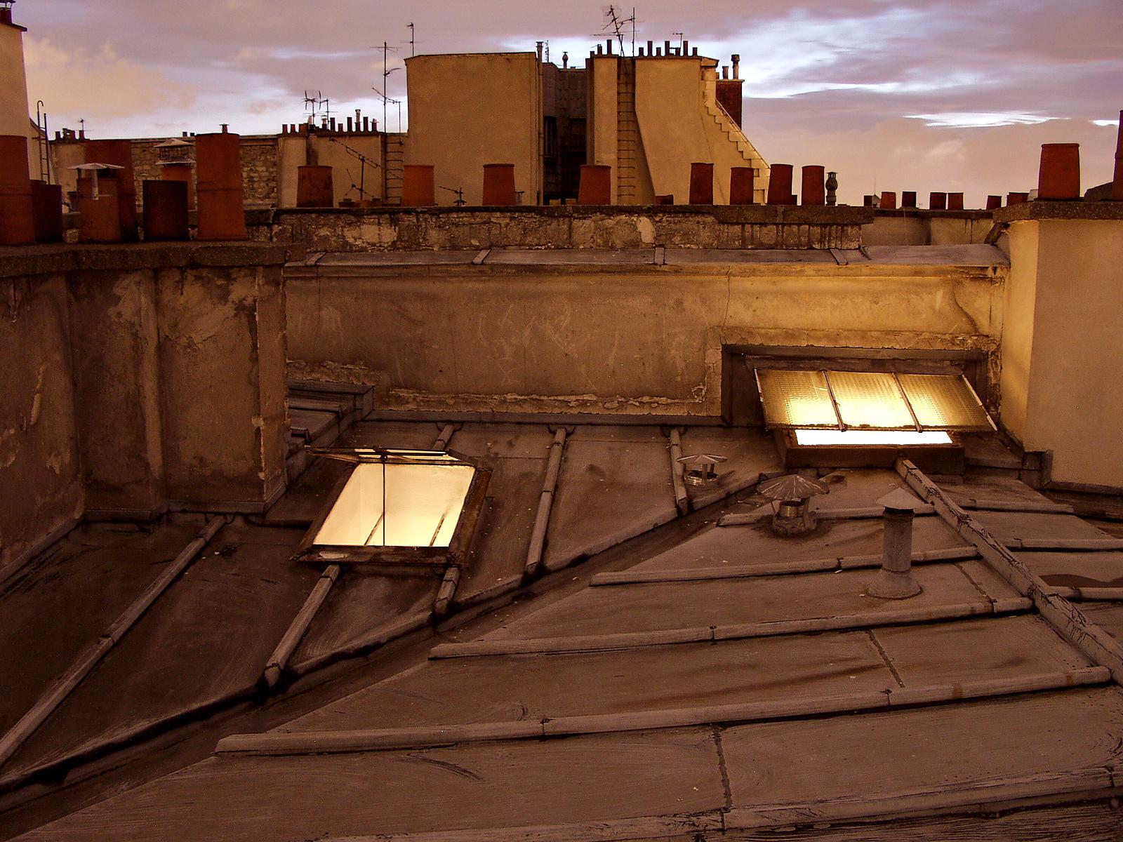 Phototh que arnaud frich les toits de paris au cr puscule - Les cents ciels paris 11 ...