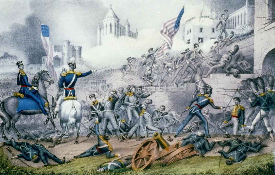 a history project on the causes for the mexican war from 1846 to 1848 The treaty of guadalupe hidalgo, signed on february 2, 1848, ended the mexican-american war in favor of the united states the war had begun almost two years earlier, in may 1846, over a.