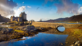 Eilean Donan and bridge