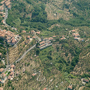 Vezzano Ligure aerial photos