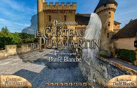 Panorama virtuel du Château de Puymartin.