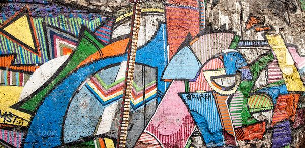 Artist Ilhami Atalay's gallery in Istanbul, Turkey