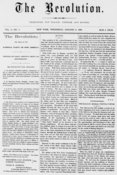 The Revolution, National Party suffragist newspaper