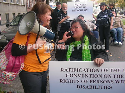 "PL 8EESMFP medium - ""Disability Rights are a Human Right"" - Minorities must join together and build powerful coalitions"