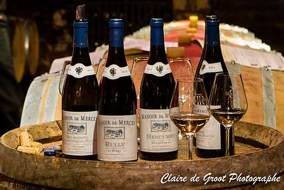 boutelles de vin