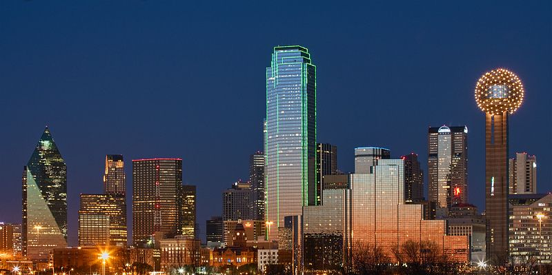 Pin Dallas Usa Night City View Wallpapers Hi on Pinterest HD Wide Wallpaper for Widescreen