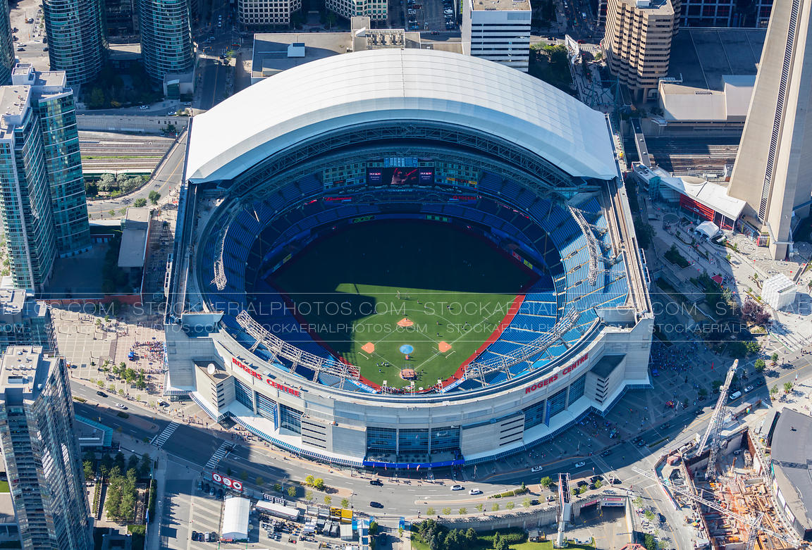 Aerial Photo Rogers Centre