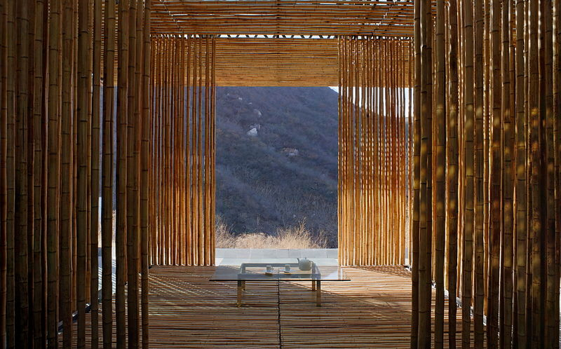 Michael Freeman Photography Bamboo Wall House