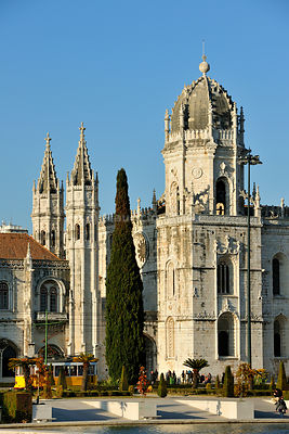 The Jernimos monastery, a UNESCO World Heritage Site. Lisbon
