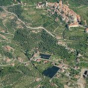 Diano Castello aerial photos