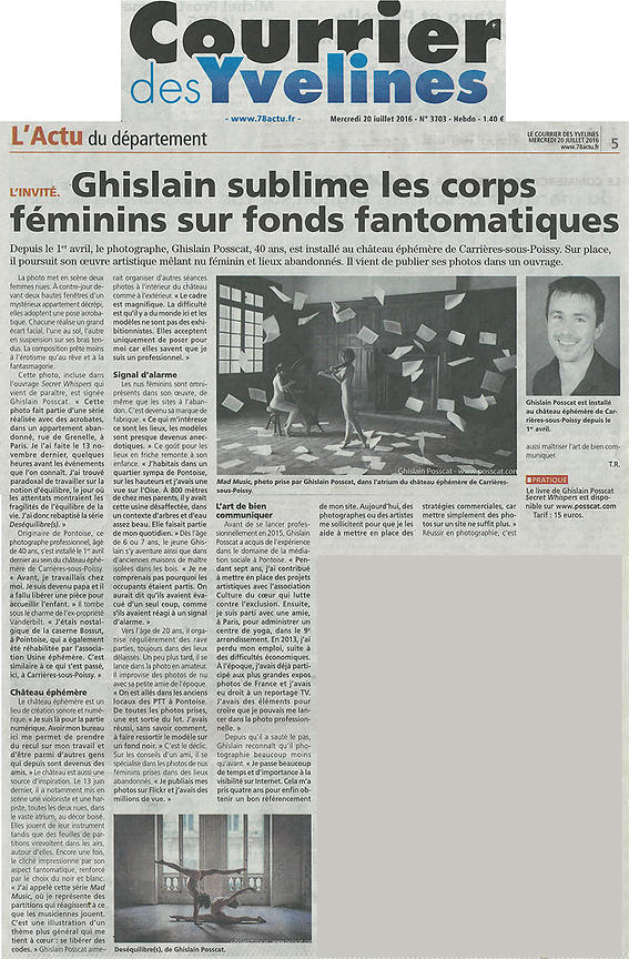 interview ghislain posscat le courrier yvelynois